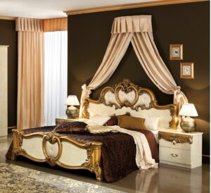 ESF Barocco Ivory Gold Bedroom Collection