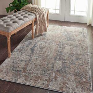 Rustic Textures RUS06 Beige Grey Rug
